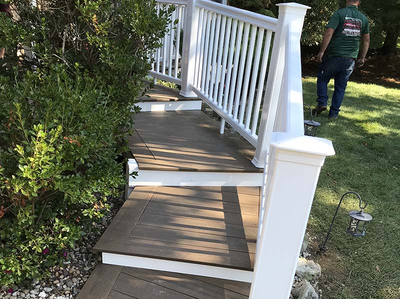 Suffolk County Long Island decking