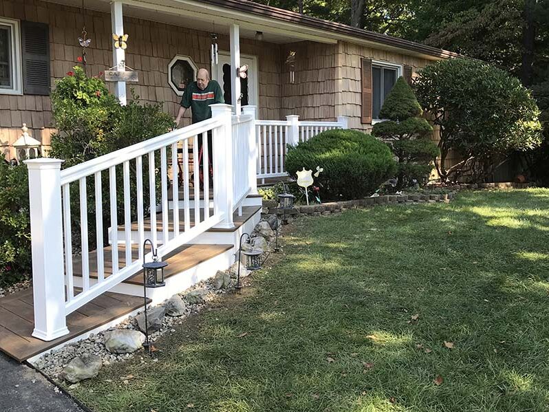 Suffolk County Long Island deck railings