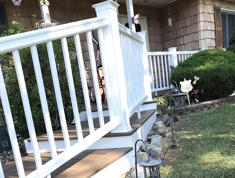 Suffolk County Long Island deck rails