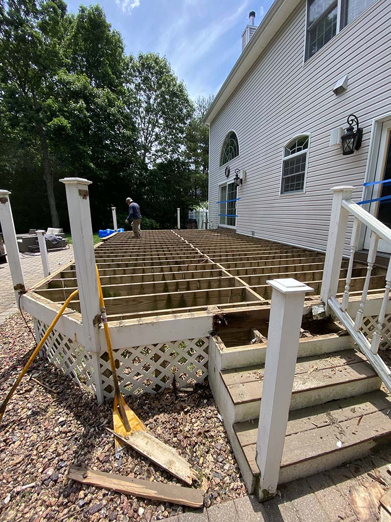 Suffolk County Long Island decking repairs