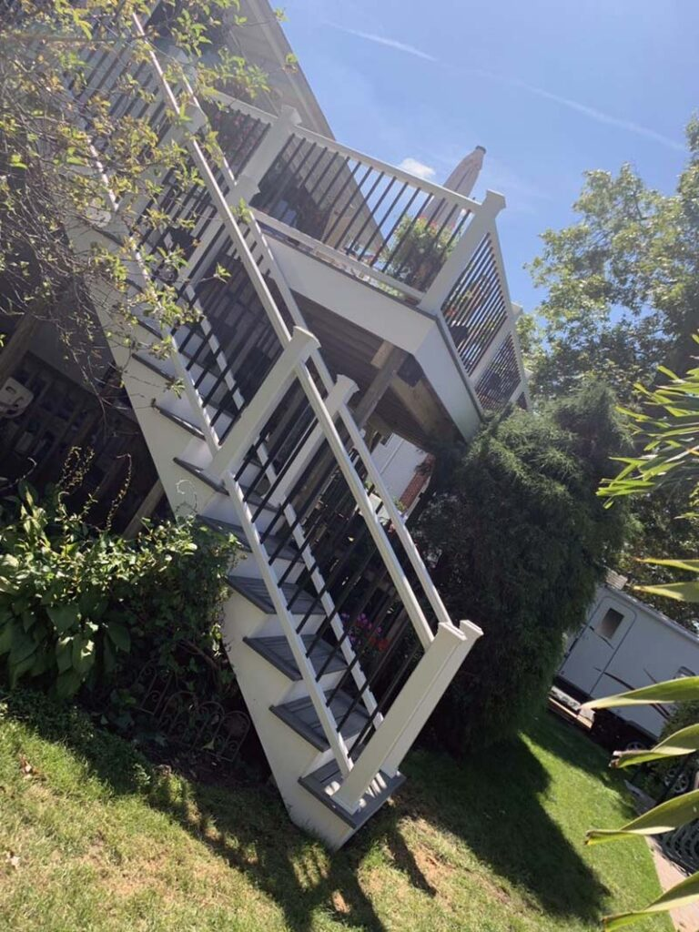 Suffolk County Long Island second story deck and repairs