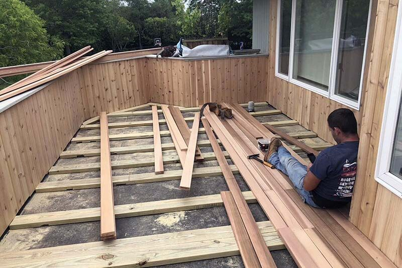 Suffolk, Long Island, NY balcony deck and repairs