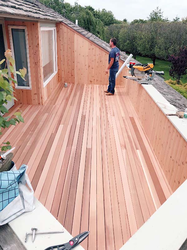 Suffolk County, Long Island, NY balcony deck and repairs